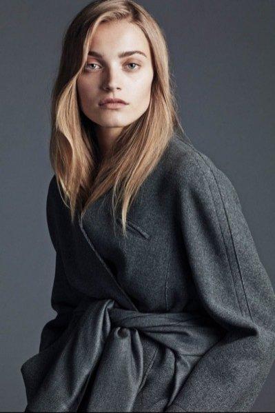 """1. Anna Jagodzińska w sesji """"The Grey Lady"""" dla wrześniowego numeru WSJ Magazine"""