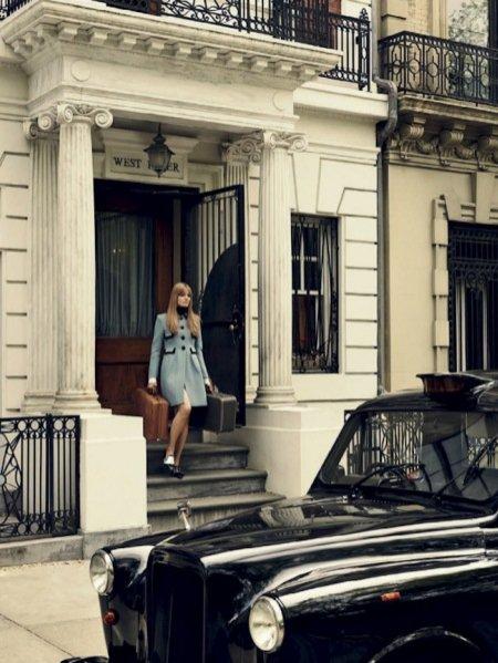 1. Anna Jagodzieńska w sesji dla Vogue Brazil - październik 2015