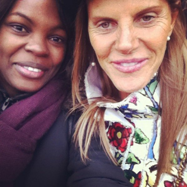 1. Anna Dello Russo na Paris Fashion Week