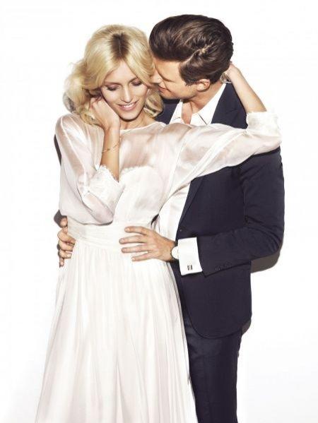 Anja Rubik i Sasha Knezevic w ślubnej kampanii marki Apart
