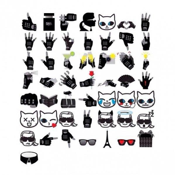 1. Aplikacja EmotiKarl od Karla Lagerfelda