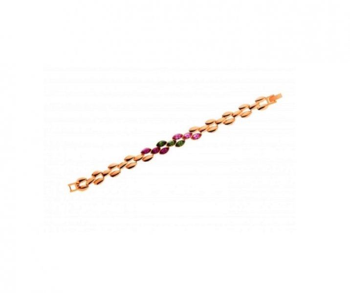 1. Artelioni - bransoletka z cyny z kryształem