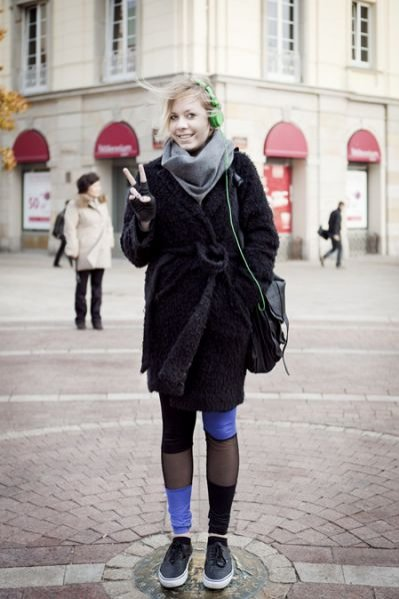 Moda uliczna - Areta Szpura