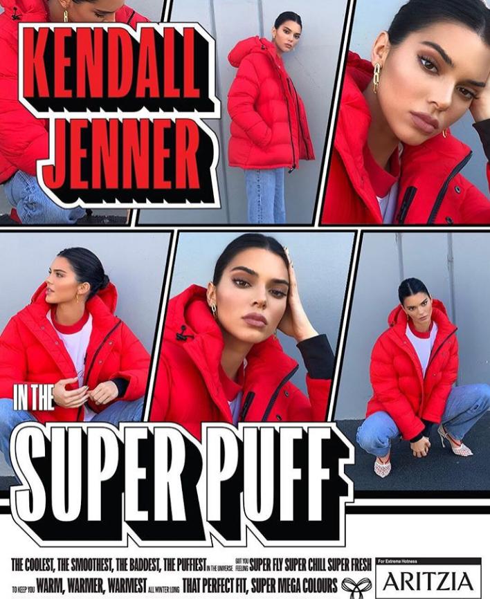 Kendall Jenner x Aritzia