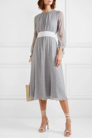 Sukienka z białym szerokim paskiem, Aross Girl x Soler/Net-e-Porter, 835 eur