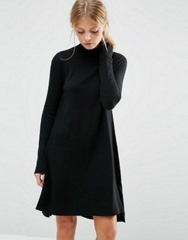Sukienka z domieszką kaszmiru, ASOS, ok. 110 pln