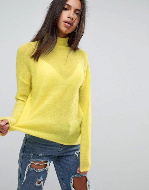 ASOS - sweter z moheru