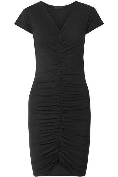 Sukienka z marszczeniem, ATM Anthony Thomas Melillo/Net-a-Porter, 231 eur