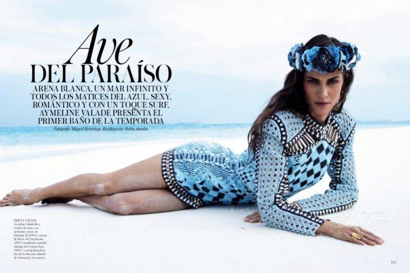 Aymeline Valade w sesji dla Vogue Spain maj 2013