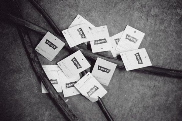 1. Backstage pokazu kolekcji Levi's wiosna lato 2014