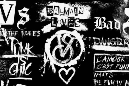 Kolaboracja: Victoria's Secret x Balmain (1)