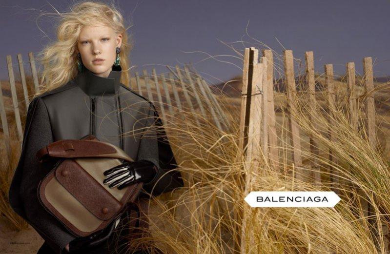 Kampania marki Balenciaga na sezon jesień zima 2012/2013