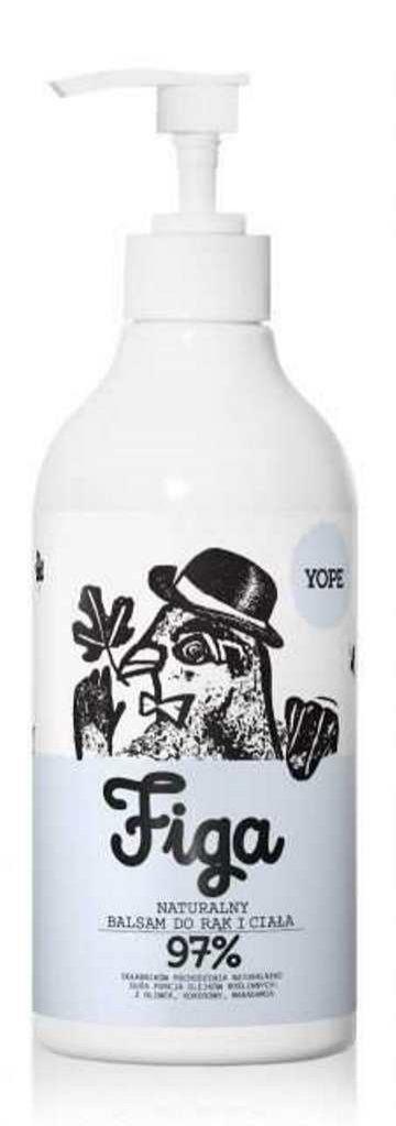 Nawilżająco-odżywczy balsam do ciała z figą, Yope, 39 pln