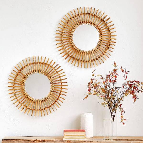 Bambusowe lustro, Zara Home, 239 pln