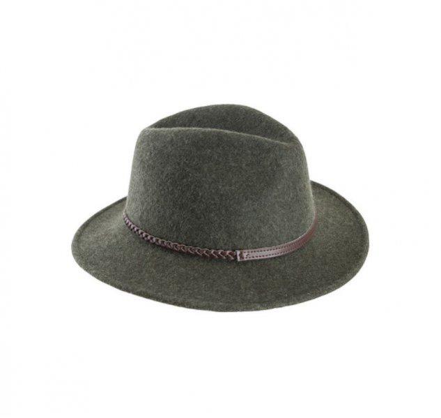 Zielony kapelusz z wełny, Barbour, 339 pln