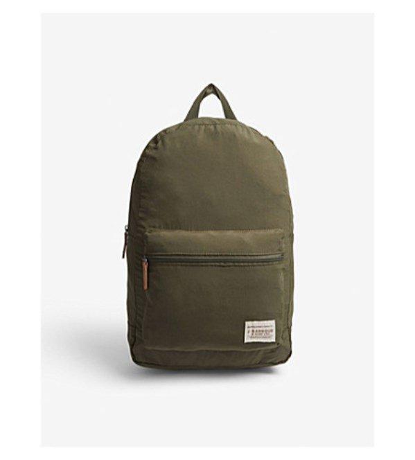 Zielony plecak, Barbour, 59 dolarów