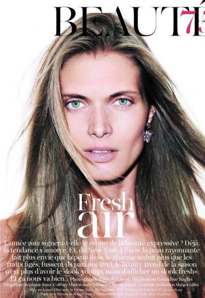 Małgosia Bela w sesji beauty w Vogue Paris