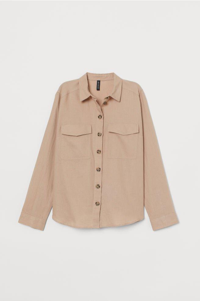 Bawełniana koszula, H&M Conscious, 59 pln