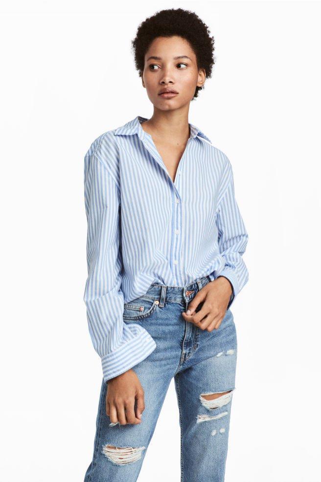 Bawełniana koszula, H&M, 80 pln