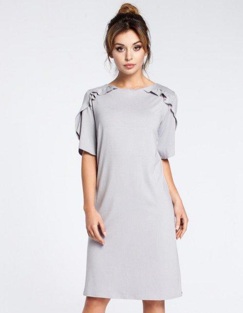 Szara sukienka, Be/Showroom, 135 pln
