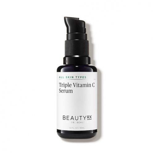Kosmetyki z witaminą C: potrójne serum witaminowe, Beauty RX by Dr Schultz, 95 dolarów