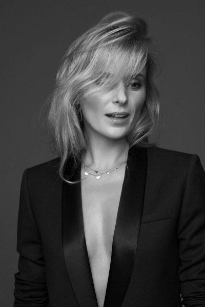 1. Halina Mlynkova w kampanii biżuterii marki Beller