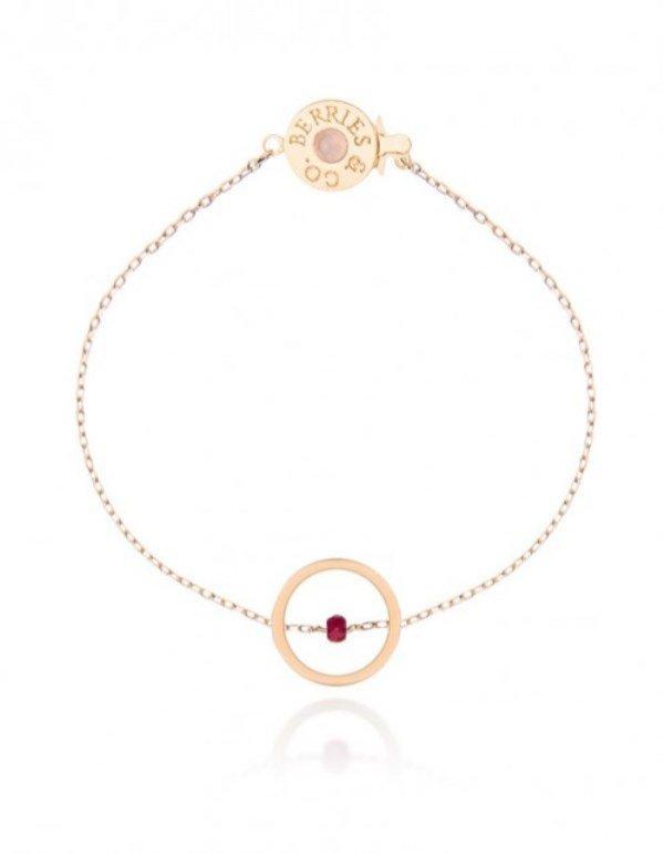Biżuteria na wakacje - Bransoletka, Berries&Co, 250 pln