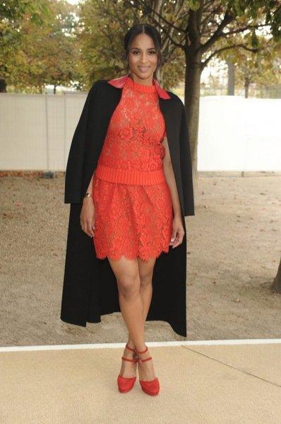 Ciara w projektach z kolekcji Valentino