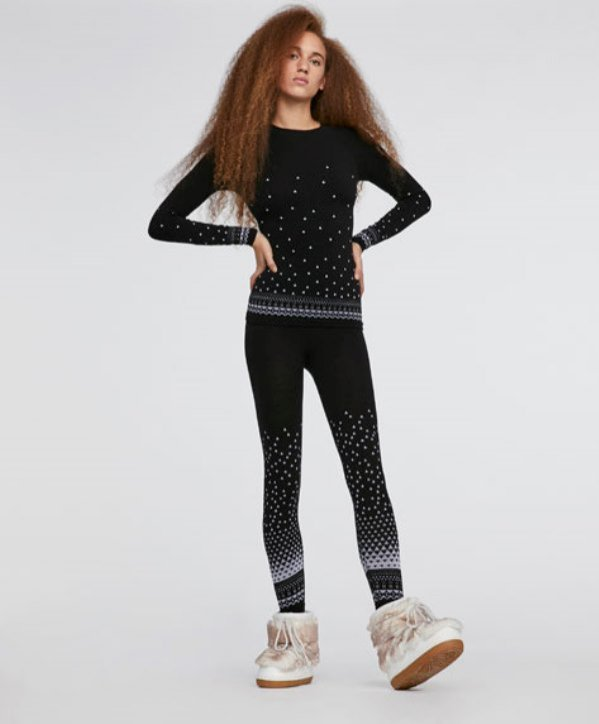 Bezszwowe legginsy z wełny merynosa, Oysho, 299 pln
