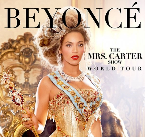 Beyonce wystąpi w projektach DSquared2 podczas The Mrs. Carter Show World Tour