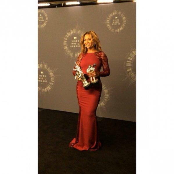 Beyonce na MTV Video Music Awards 2014