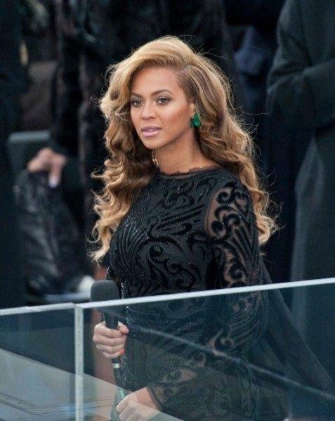 Beyoncé Knowles  na zaprzysiężenie Baracka Obamy