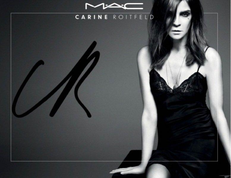 Carine Roitfeld dla MAC