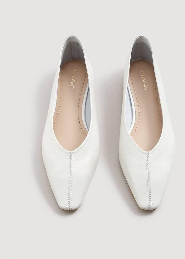 Białe buty na wiosnę, Mango, 199 pln