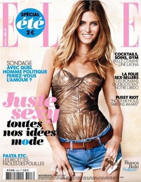 Bianca Balti w okładkowej sesji Marcina Tyszki dla Elle France