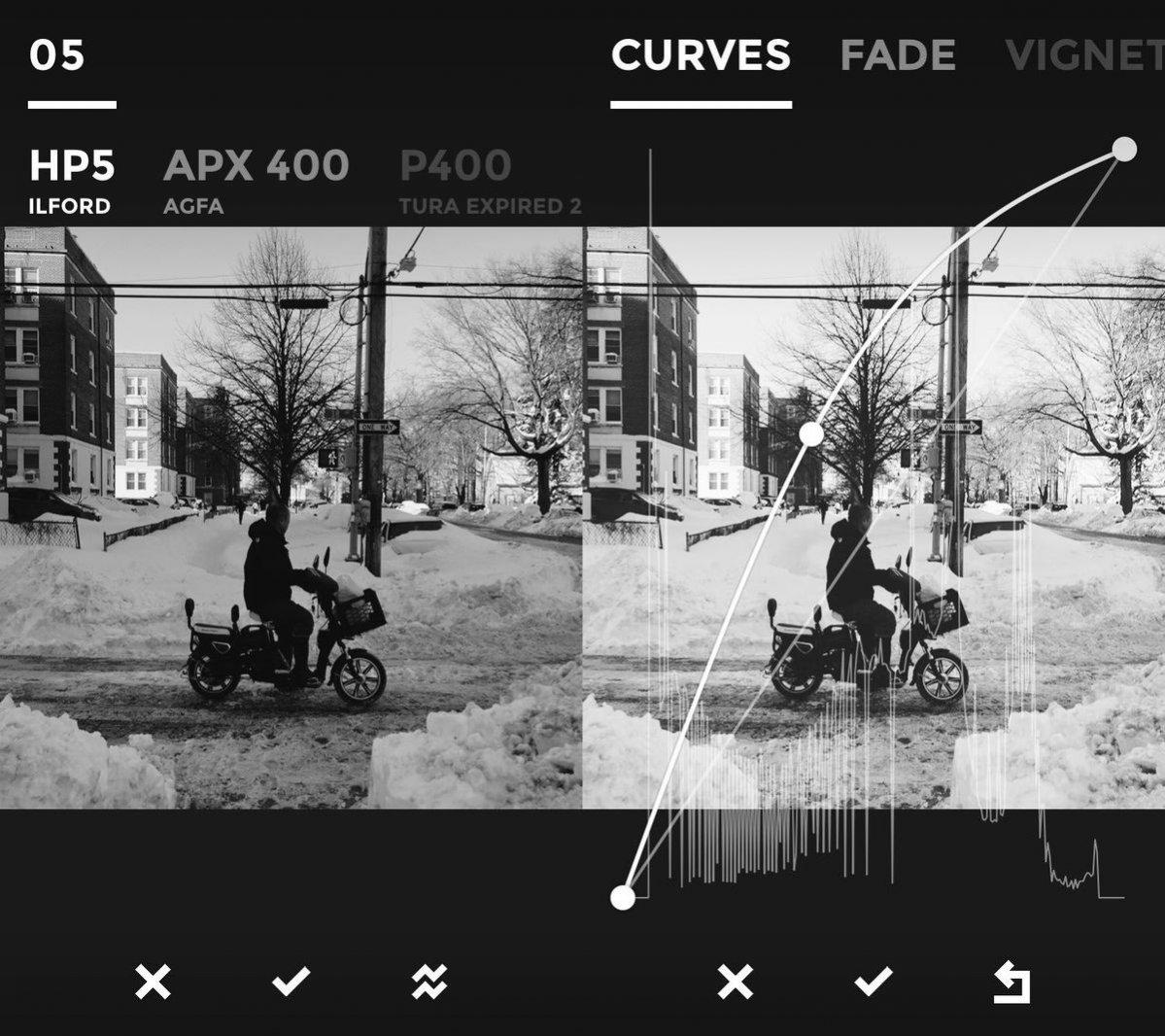 Najlepsze aplikacje na Instagram - BLACK (tworzenie wyjątkowych, czarno-białych zdjęć, iOS)