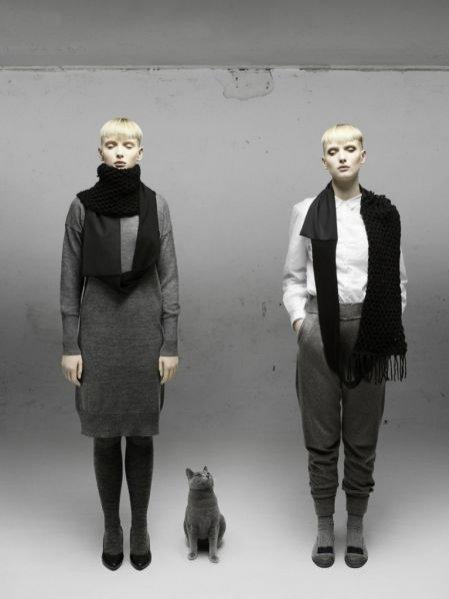 Kolekcja szali projektantki Aiste Nesterovaite