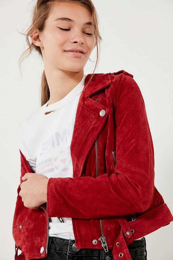 Zamszowa kurtka, Blanknyc (Urban Outfitters), 189 dolarów