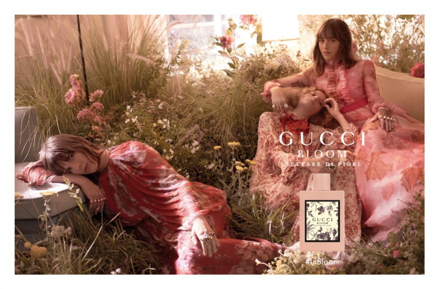 Perfumy Gucci Bloom Nettare di Fiori - kampania reklamowa