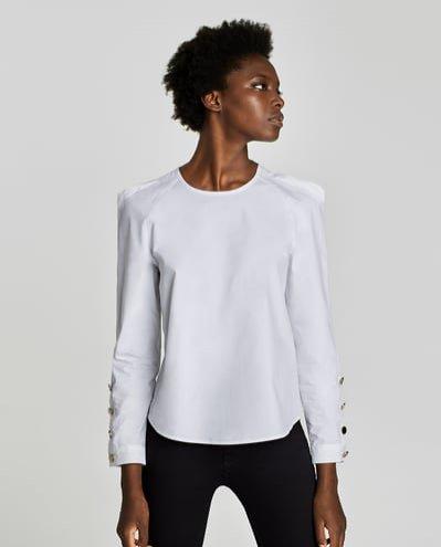Bluzka, Zara, 44 pln