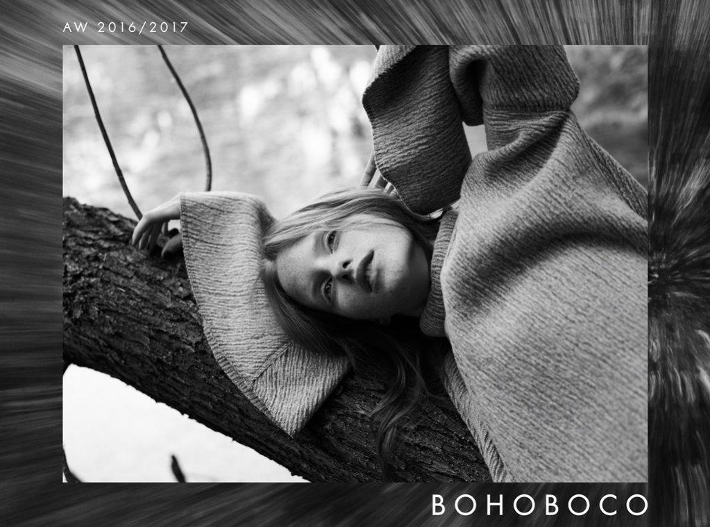 Magdalena Jasek w kampanii Bohoboco jesień zima 2016