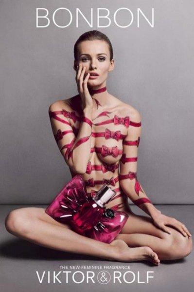 Edita Vilkeviciute w kampanii zapachu Bonbon