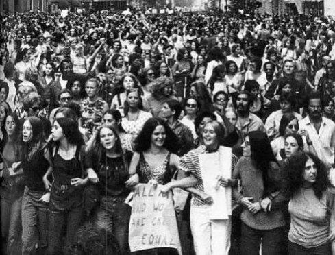 Protest feministek drugiej fali