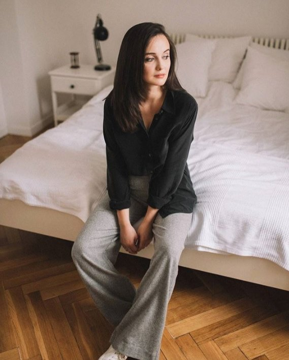 Karolina Ościk - sypialnia