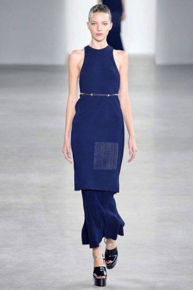 1. Pokaz kolekcji Calvin Klein wiosna-lato 2015, NYFW