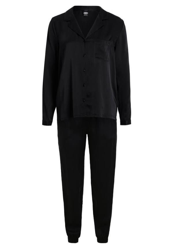 Piżama jedwabna z koszulą, Calvin Klein Underwear, 839 pln