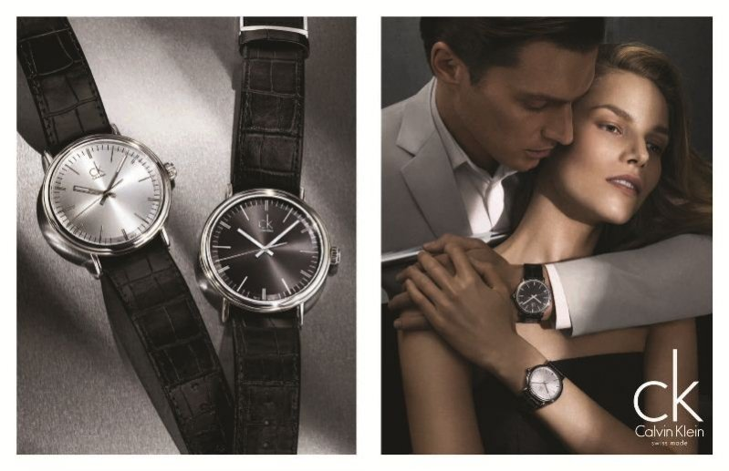 Calvin Klein watches & jewelry kampania wiosna lato 2013