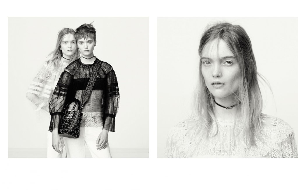 Ruth i May Bell w kampanii Dior wiosna lato 2017