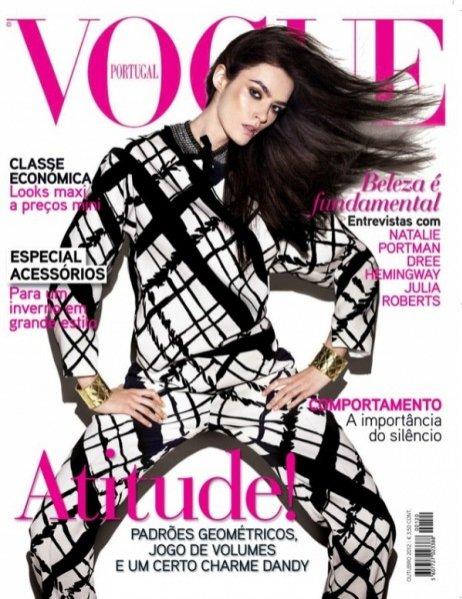 Patrycja Gardygajło na okładce Vogue Portugal