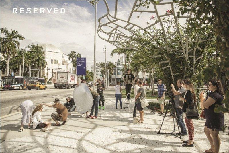 backstage kampanii Reserved Cara Delevingne